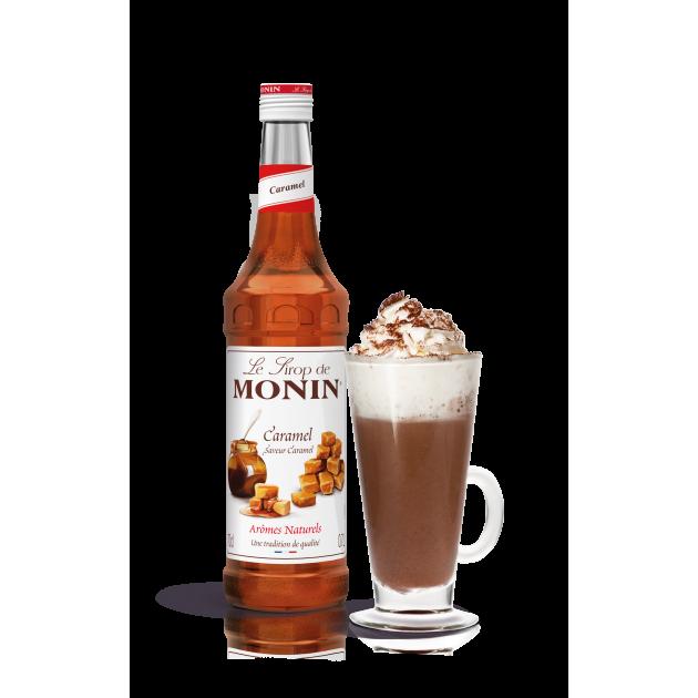 Idée boisson avec le sirop caramel Monin