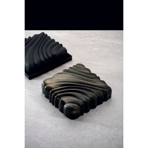 Moule Silicone Carré Squeeze 16,4 cm x H 4,7 cm Pavoni