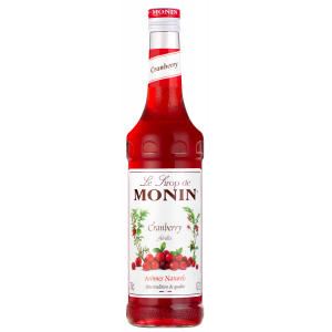 Sirop Cranberry 70 cl Monin