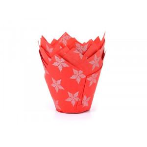 Caissette Cupcake Étoiles (x50) House of Marie