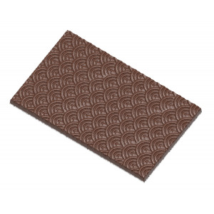 Moule Chocolat Tablette Vagues (x2) Chocolate World