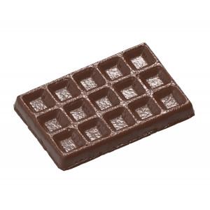 Moule Chocolat Gaufre de Bruxelles 103,5 mm (x3) Chocolate World