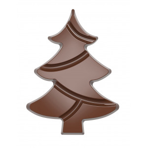 Moule Chocolat Tablette Sapin de Noël 139,5 mm (x2) Chocolate World