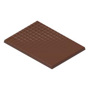 Moule Chocolat Matinette avec trame 69,5 mm (x6) Chocolate World