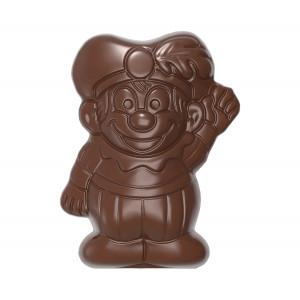 Moule Chocolat Père Fouettard 79 mm (x4) Chocolate World