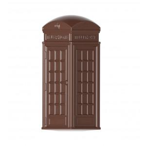 Moule Chocolat Cabine Téléphonique British Collection 44 mm (x24) Chocolate World