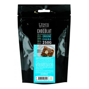 Chocolat au Lait Origine Ghana 250 g Patisdécor