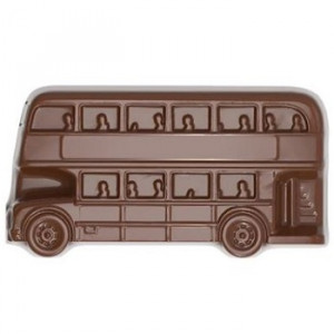 Moule Chocolat Bus Londonien British Collection 39 mm (x24) Chocolate World