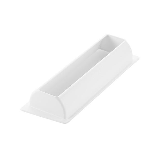 Moule à Bûche Silicone Elégance 25 cm Silikomart Professional et Support Plastique