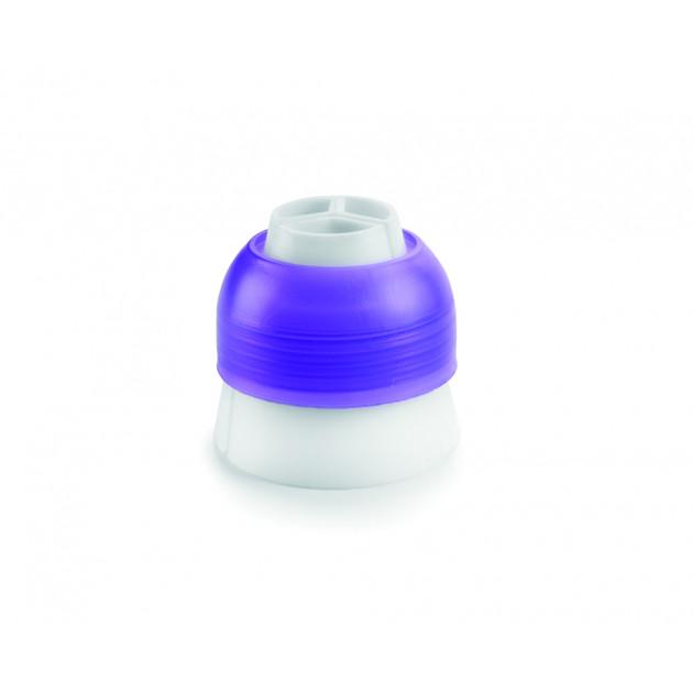 Adaptateur 3 couleurs pour Douille Russe Ø 2,3 cm Ibili