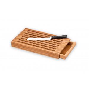 Planche à Pain Ramasse Miettes 41,2 x 22,8 cm Bambou Déglon