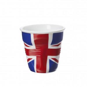 Gobelet Froissé Drapeau Royaume-Uni 8cl Revol