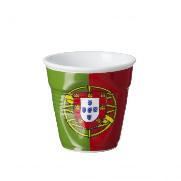 Gobelet Froissé Drapeau Portugal 8cl Revol