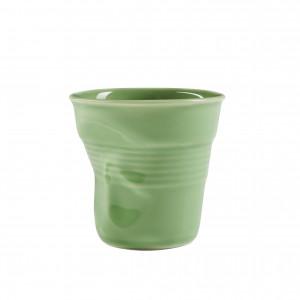 Gobelet Froissé Vert Amande 8cl Revol
