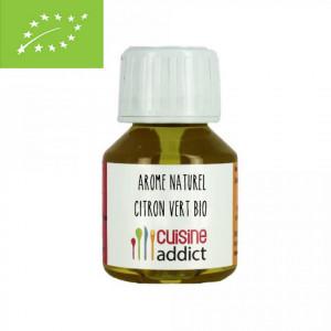 Arôme Alimentaire Bio Citron Vert 58 ml Cuisineaddict