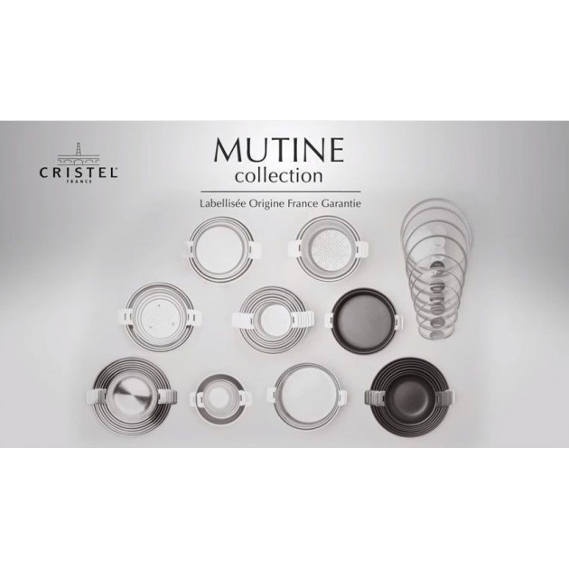 Collection ustensiles Mutine Cristel Empliees
