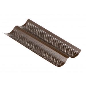 Plaque Perforée 2 Baguettes 38 x 16 cm x H 2,2 cm Gobel