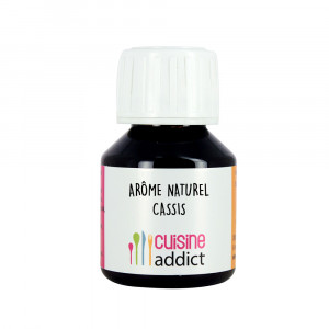 Arôme alimentaire naturel Cassis 58 ml Cuisineaddict