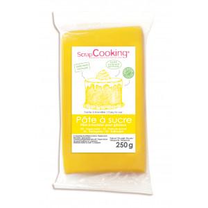 Pâte à Sucre Jaune 250 g ScrapCooking