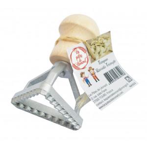 Emporte Pièce Raviolis Triangle Aluminium Les Pâtes de Léonard