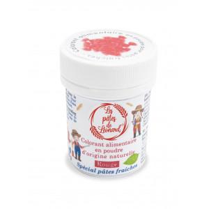 Colorant Alimentaire Naturel Rouge pour Pâtes 10 g Les Pâtes de Léonard
