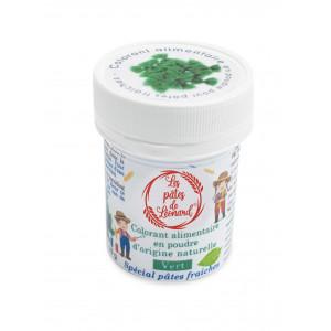 Colorant Alimentaire Naturel Vert pour Pâtes 10 g Les Pâtes de Léonard