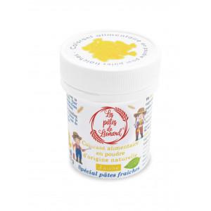 Colorant Alimentaire Naturel Jaune pour Pâtes 10 g Les Pâtes de Léonard