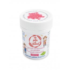 Colorant Alimentaire Naturel Rose pour Pâtes 10 g Les Pâtes de Léonard
