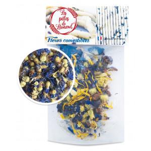 Fleurs Comestibles de Bleuet 3 g Les Pâtes de Léonard