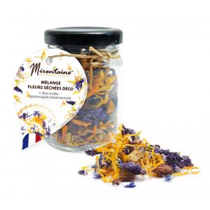 Mélange Fleurs Séchées Comestibles 3,5 g Mirontaine