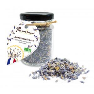 Lavande Séchée Comestible Bio 9,5 g Mirontaine