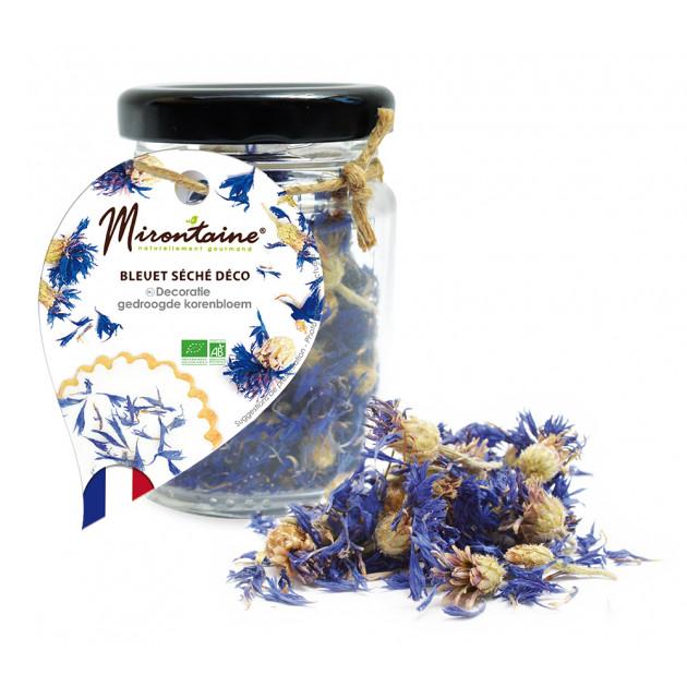 Bleuet Fleurs Séchées Comestibles Bio 4,5 g Mirontaine
