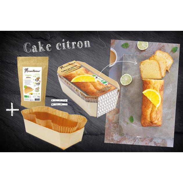 Moule à Gâteau Biodégradable + Sachet Préparation Gâteau