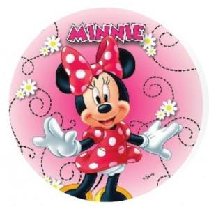 Disque Azyme 21 cm Minnie Danse