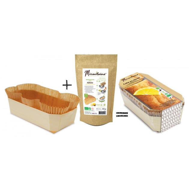 Préparation Cake Citron Bio