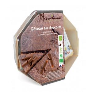 Préparation Bio Gâteau au Chocolat + Moule en Bois Mirontaine