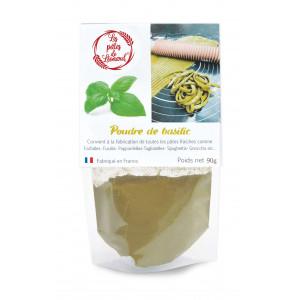 Poudre de Basilic 90 g Les Pâtes de Léonard