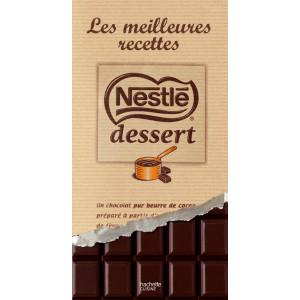 FIN DE SERIE Livre de recettes : Nestle Dessert - Les meilleures recettes au chocolat noir
