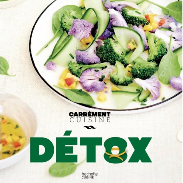 Livre de Recettes Detox. chez Hachette
