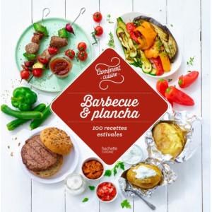 Livre de Recettes Barbecue et Plancha, chez Hachette