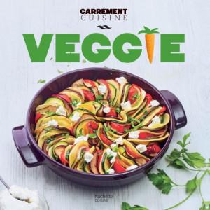 Livre de Recettes Veggie, chez Hachette