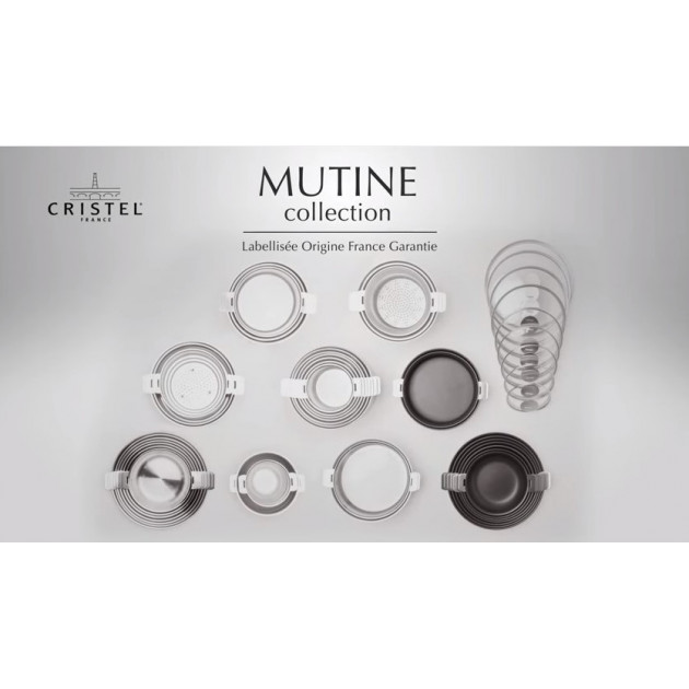Presentation de la Collection Mutine Amovible Cristel