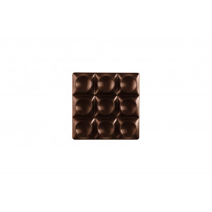 Moule Tablette Chocolat Mini Bricks 7 x 7 cm x H 1,1 cm (x6) Pavoni