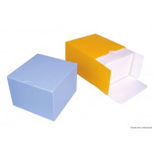 Boîte Isotherme Carré 20 cm Jaune (x25)