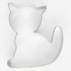 Emporte-pièce Inox Chat 5 x 4 cm Cookie Cutters