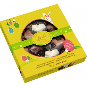 Chocolats de Pâques Assortiment Animaux Praliné 250g