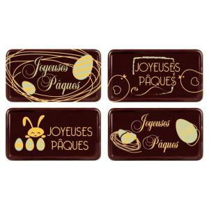 Plaque Chocolat Joyeuses Pâques x64 Florensuc