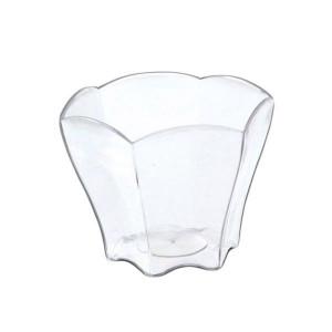 FIN DE SERIE Verrines Transparentes Forme Pétale 6,5 cl Very Verrines (x12)