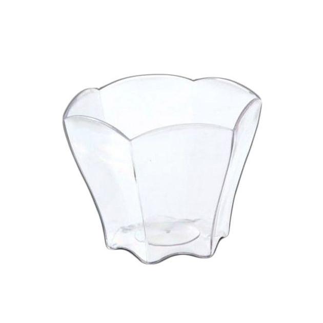FIN DE SERIE Verrines Transparentes Forme Petale 6.5 cl Very Verrines (x12)
