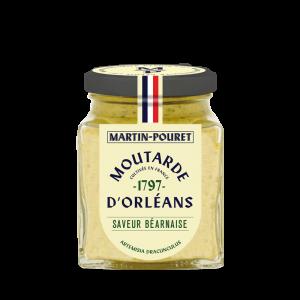 Moutarde d'Orléans Saveur Béarnaise 95g Martin Pouret